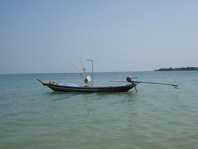 Long Tail Boat, Chaweng Beach, Koh Samui - Thailand.