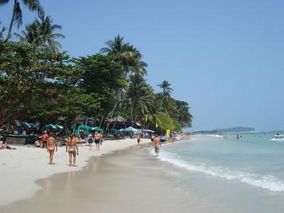 Chaweng Beach, Koh Samui - Thailand.