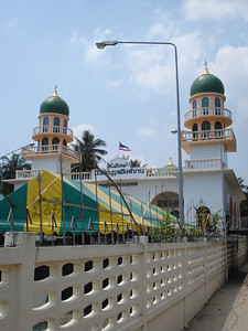 Nurun Aihzan Mosque, Hua Thanon, Koh Samui - Thailand.