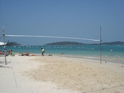 Chaweng Beach volleyball, Koh samui - Thailand.