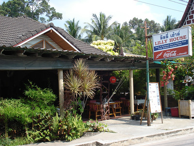 Lilly House Guesthouse and Restaurant, Lamai, Koh Samui - Thailand.
