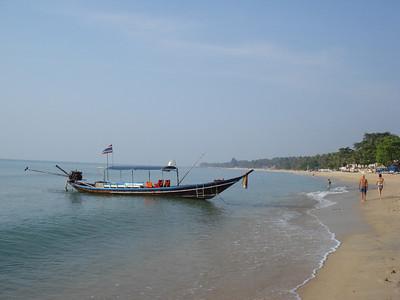 Long Tail Boat, Lamai, Koh Samui - Thailand.