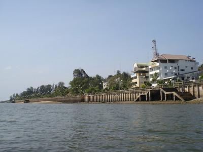 Krabi River, Krabi - Thailand.