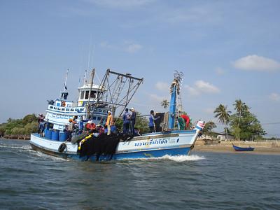 Fishing boat, Krabi - Thailand.
