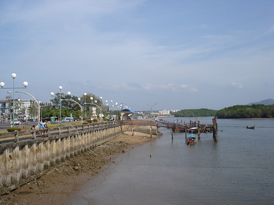 River dock, Krabi - Thailand.