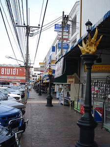Maharaj Soi 2 Lights, Krabi - Thailand.
