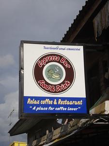 Espresso Bar, Krabi - Thailand.