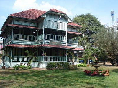 Somdet Phranarai National Museum Office, Lopburi - Thailand.