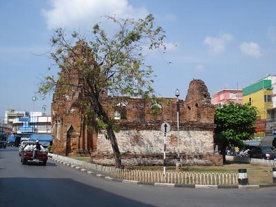 Prang Khaek, Lopburi - Thailand.