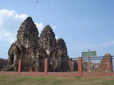 Phra Prang Sam Yod, Lopburi - Thailand.