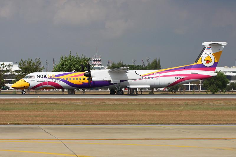 HS-DQA de Havilland Canada DHC-8Q-402NG c/n 4455 Bangkok-Don Mueang/VTBD/DMK 09-01-16
