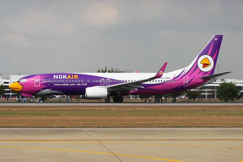 HS-DBU Boeing 737-88L c/n 61294 Bangkok-Don Mueang/VTBD/DMK 09-01-16