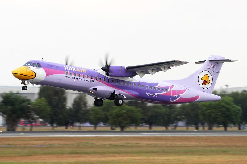 HS-DRD Aerospatiale ATR-72-212A c/n 754 Bangkok-Don Mueang/VTBD/DMK 09-01-16