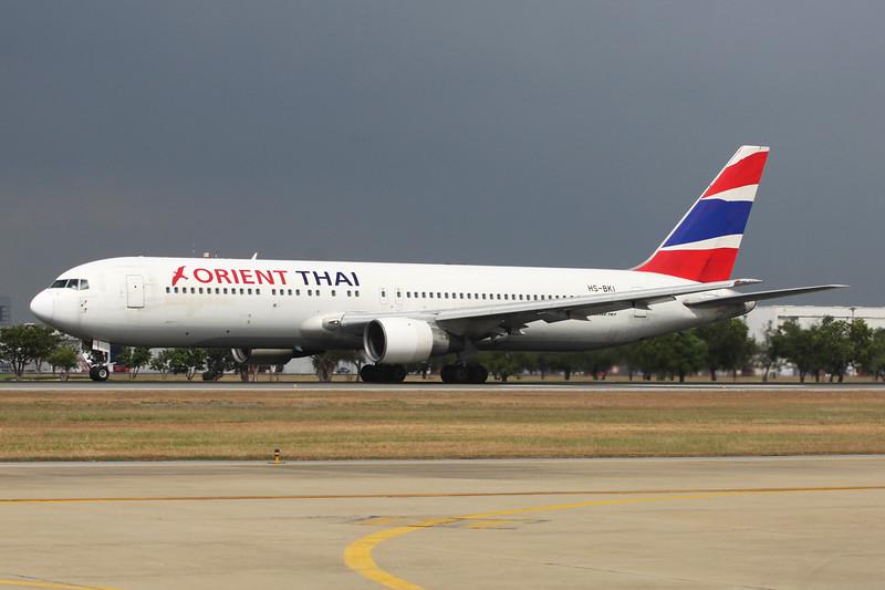 "HS-BKI Boeing 767-346 ""Orient Thai Airlines"" c/n 23965 Bangkok-Don Mueang/VTBD/DMK 09-01-16"