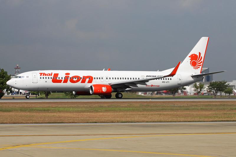 "HS-LTI Boeing 737-9GPER ""Thai Lion Air"" c/n 38738 Bangkok-Don Mueang/VTBD/DMK 09-01-16"