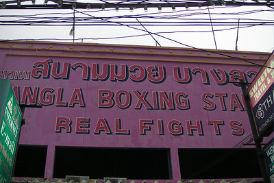 Patong Boxing Stadium spotted in Phuket, Thailand