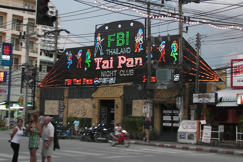 Patong Night Club Sign in Phuket, Thailand