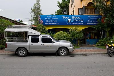Sea Bees Dive Shop in Phuket, Thailand