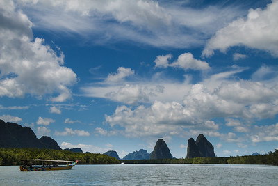 Stunning seascape on the way to the James Bond Island.