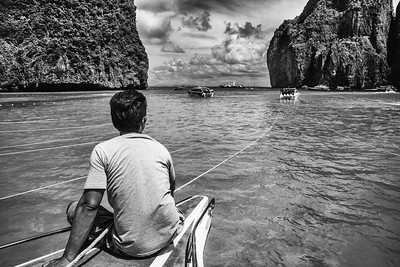 Splendid seascape of Ko Phi Phi.