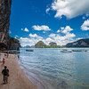 Yet another colorful seascape and life scene at the James Bond Island.
