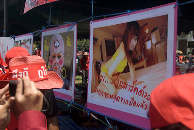 Photo mocking Thai government officials - Thailand