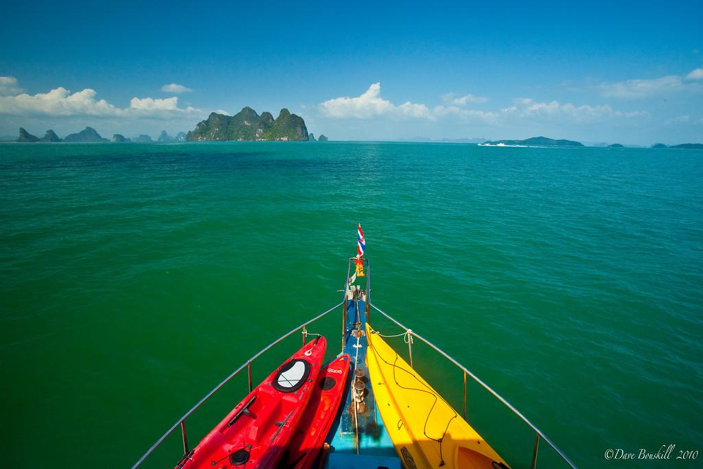 آب های شفاف و زلال تایلند