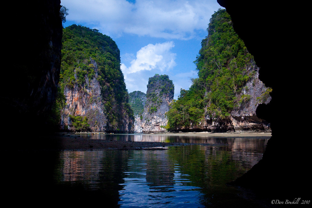 sea caves and hongs of southern thailand