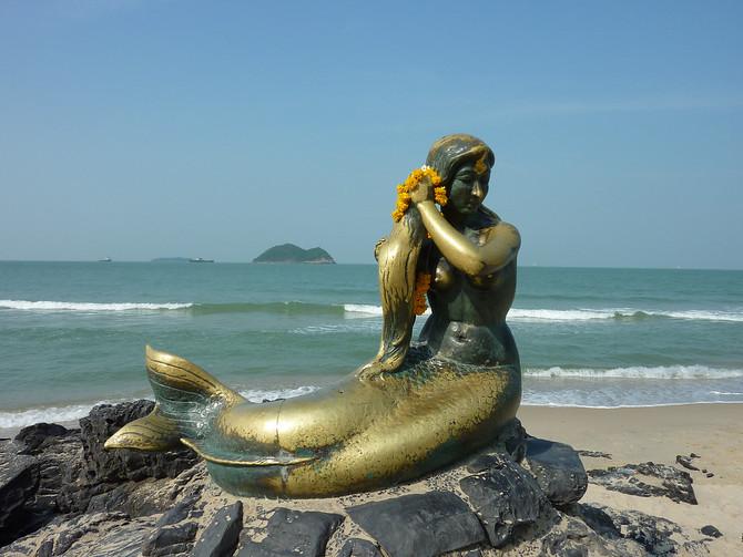 The Golden Mermaid - Songkhla Thailand