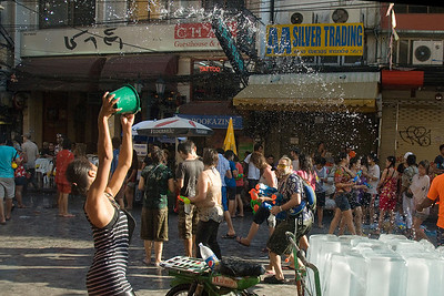 More water showers at the 2010 Songkran Festival