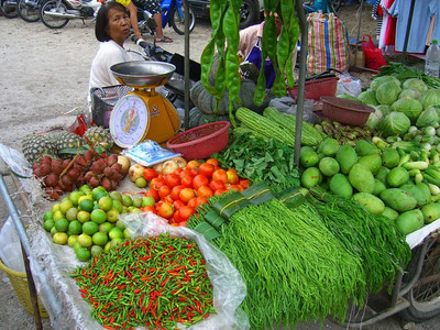 Colorful Vegetables - Ranong, Thailand