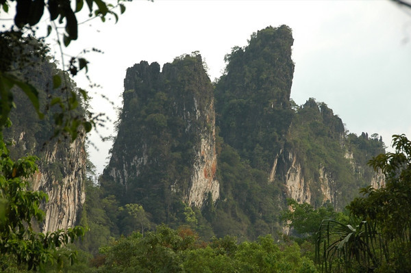 Ridges and Rain Forests - Khao Sok, Thailand