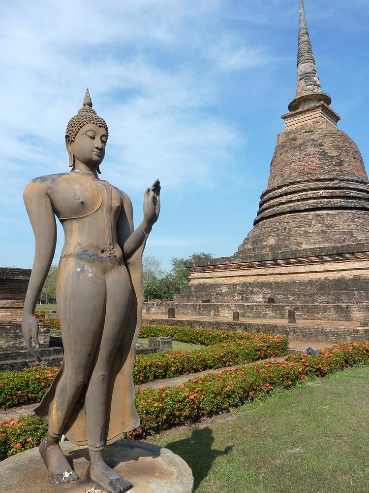 Walking Buddha, Sukhothai - Thailand
