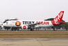 """HS-ABE Airbus A320-216 """"Thai AirAsia"""" c/n 3489 Bangkok-Don Mueang/VTBD/DMK 09-01-16 """"Truly ASEAN"""""""