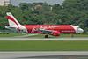"""HS-ABE Airbus A320-216 """"Thai AirAsia"""" c/n 3489 Singapore-Changi/WSSS/SIN 21-11-09"""