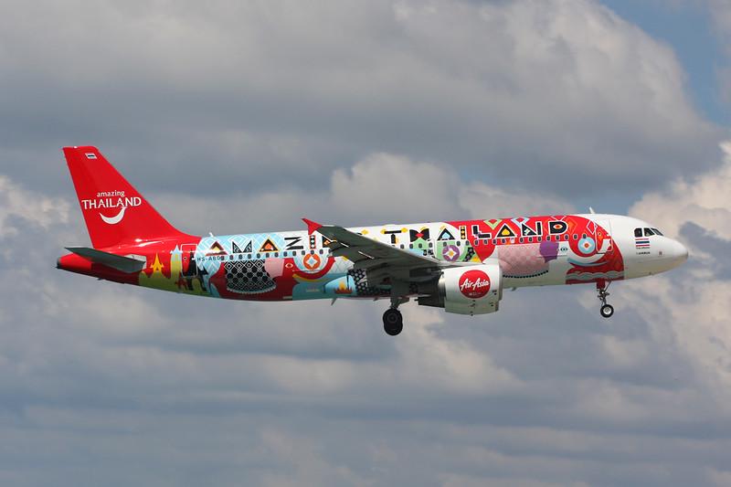 "HS-ABD Airbus A320-216 c/n 3394 Phuket/VTSP/HKT 26-11-16 ""Amazing Thailand"""