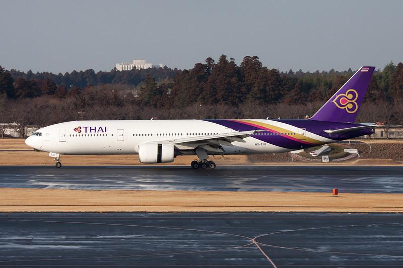 HS-TJG Boeing 777-2D7 c/n 27732 Tokyo-Narita/RJAA/NRT 25-02-11