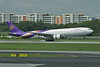 HS-TEC Airbus A330-321 c/n 062 Singapore-Changi/WSSS/SIN 21-11-09