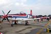 "B.F19-10/34 Pilatus PC-9 ""Royal Thai Air Force"" c/n 201 Bangkok-Don Mueang/VTBD/DMK 09-01-16"