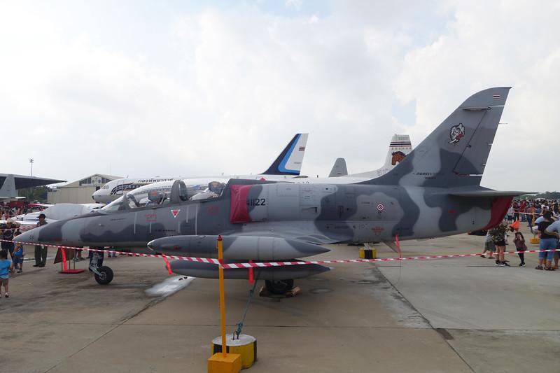 "B.KhF1-22/37 (41122) Aero Vodochody L-39 ZA/ART Albatros ""Royal Thai Air Force"" c/n 365424 Bangkok-Don Mueang/VTBD/DMK 09-01-16"
