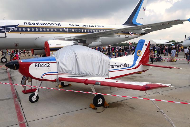 """B.F16-20/18 (60442) NZ Aerospace CT/4A Airtrainer """"Royal Thai Air Force""""  c/n 020 Bangkok-Don Mueang/VTBD/DMK 09-01-16"""