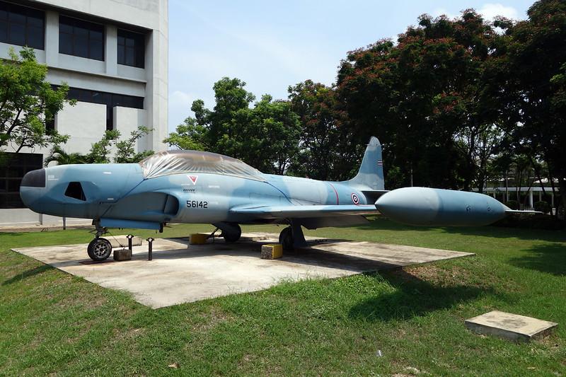 B.TF11-8/13 (56142) Lockheed RT-3A Shooting Star c/n 580-8612 Bangkok-Don Muang/VTBD/DMK 27-04-15