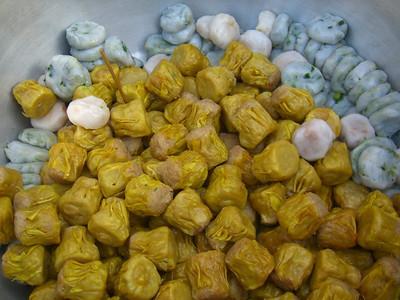 Giant Bowl of Dumplings - Bangkok, Thailand