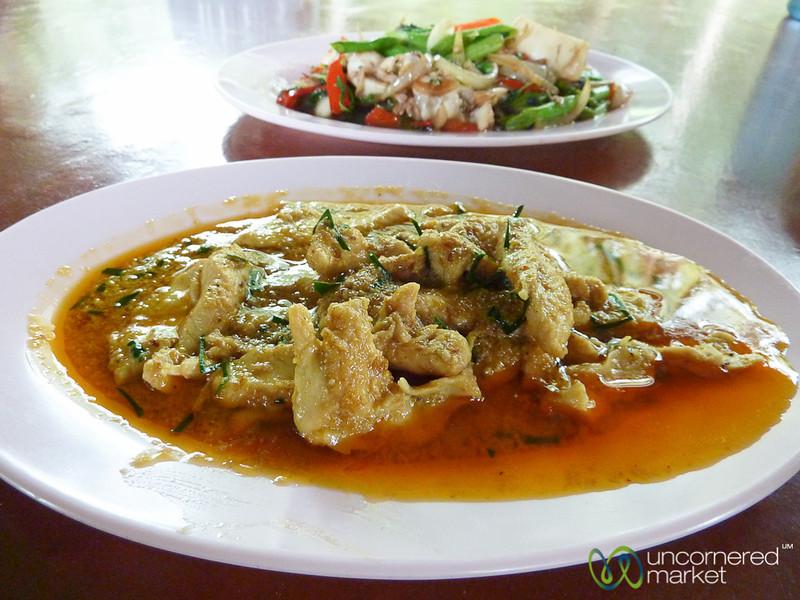 Penang Curry at Haad Yao Beach - Thailand