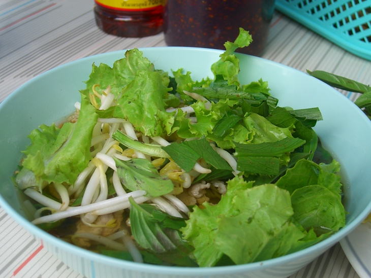 Soup with Greens - Phuket, Thailand