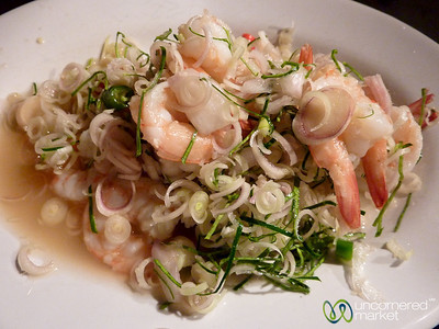 Shrimp Lemongrass Salad - Koh Samui, Thailand