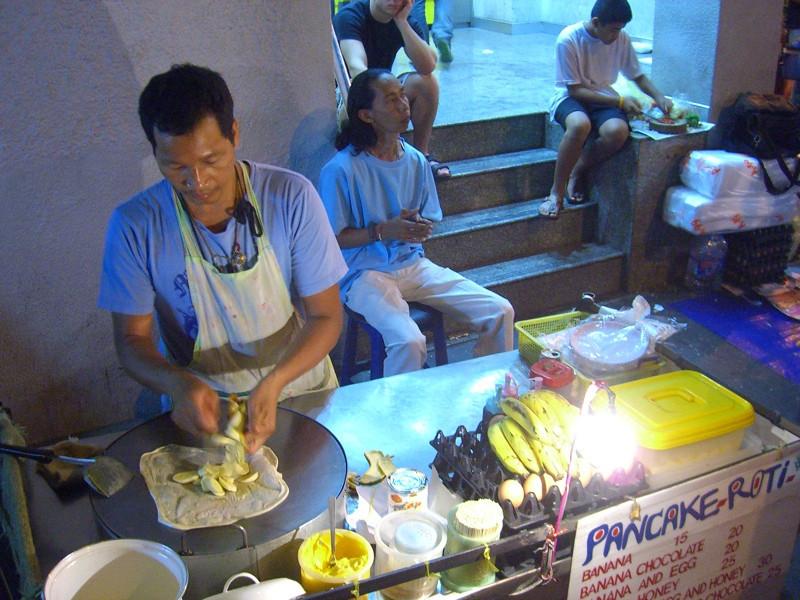 Street Banana Roti - Bangkok, Thailand