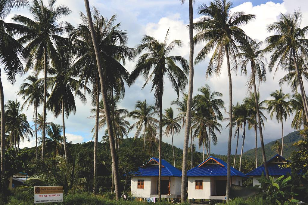 Southern side of Koh Pha Ngan. December 2014