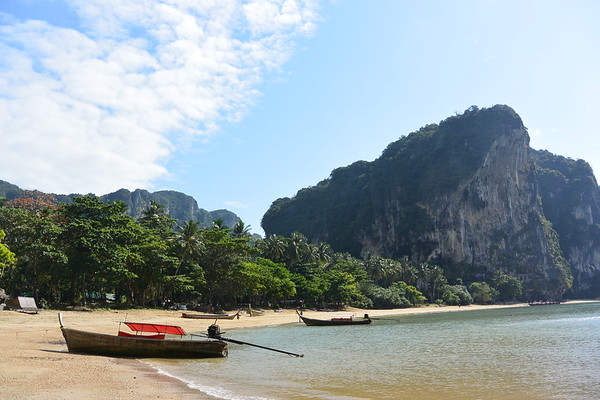 Tonsai Beach, Krabi. December 2014