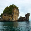 Limestone Outcops<br /> Phi Phi Is., Andaman Sea, Thailand
